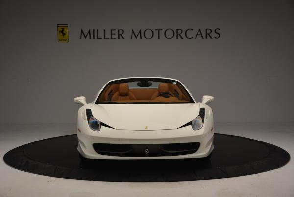 Used 2012 Ferrari 458 Spider for sale Sold at Bugatti of Greenwich in Greenwich CT 06830 12