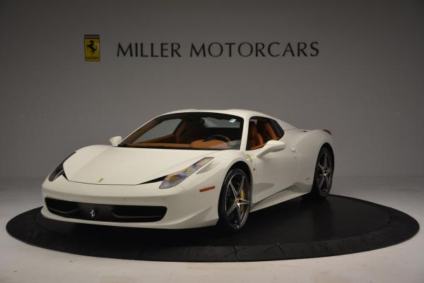 Used 2012 Ferrari 458 Spider for sale Sold at Bugatti of Greenwich in Greenwich CT 06830 13