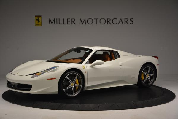 Used 2012 Ferrari 458 Spider for sale Sold at Bugatti of Greenwich in Greenwich CT 06830 14