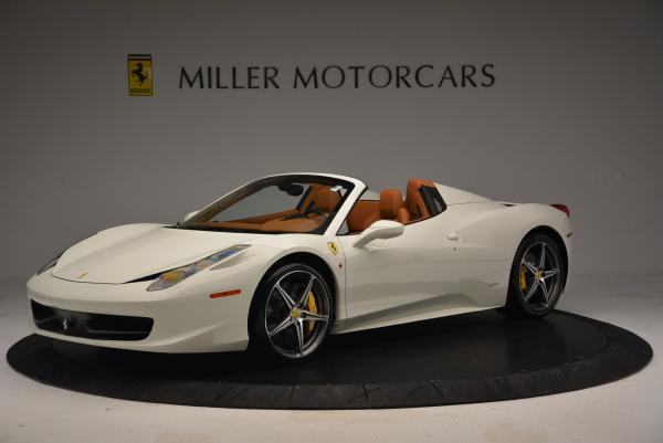 Used 2012 Ferrari 458 Spider for sale Sold at Bugatti of Greenwich in Greenwich CT 06830 2