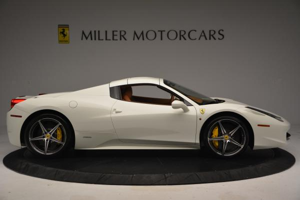 Used 2012 Ferrari 458 Spider for sale Sold at Bugatti of Greenwich in Greenwich CT 06830 21