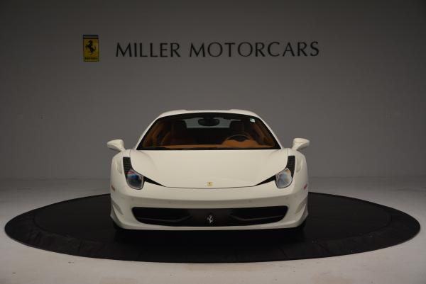 Used 2012 Ferrari 458 Spider for sale Sold at Bugatti of Greenwich in Greenwich CT 06830 24