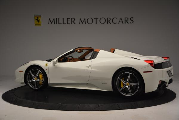 Used 2012 Ferrari 458 Spider for sale Sold at Bugatti of Greenwich in Greenwich CT 06830 4
