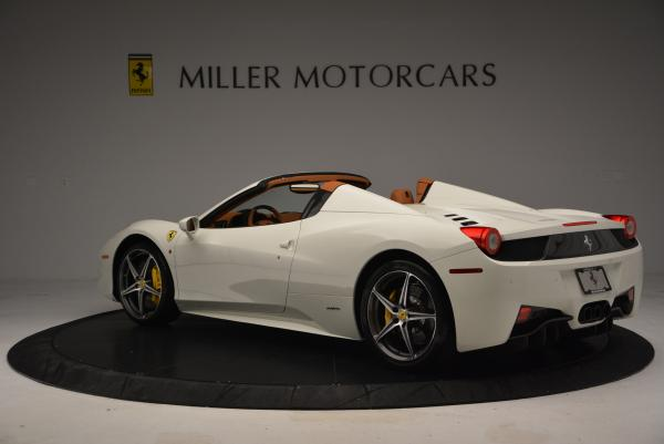 Used 2012 Ferrari 458 Spider for sale Sold at Bugatti of Greenwich in Greenwich CT 06830 5