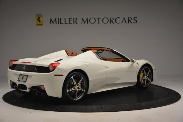 Used 2012 Ferrari 458 Spider for sale Sold at Bugatti of Greenwich in Greenwich CT 06830 8