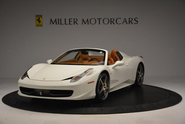 Used 2012 Ferrari 458 Spider for sale Sold at Bugatti of Greenwich in Greenwich CT 06830 1