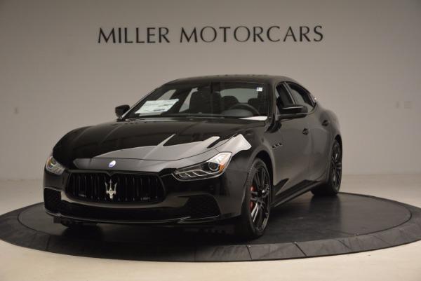 New 2017 Maserati Ghibli SQ4 S Q4 Nerissimo Edition for sale Sold at Bugatti of Greenwich in Greenwich CT 06830 1