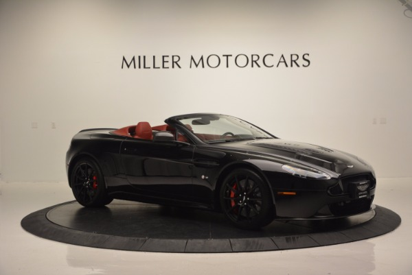 Used 2015 Aston Martin V12 Vantage S Roadster for sale Sold at Bugatti of Greenwich in Greenwich CT 06830 10