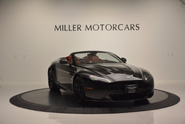 Used 2015 Aston Martin V12 Vantage S Roadster for sale Sold at Bugatti of Greenwich in Greenwich CT 06830 11