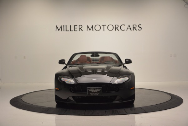 Used 2015 Aston Martin V12 Vantage S Roadster for sale Sold at Bugatti of Greenwich in Greenwich CT 06830 12