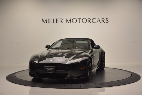 Used 2015 Aston Martin V12 Vantage S Roadster for sale Sold at Bugatti of Greenwich in Greenwich CT 06830 13