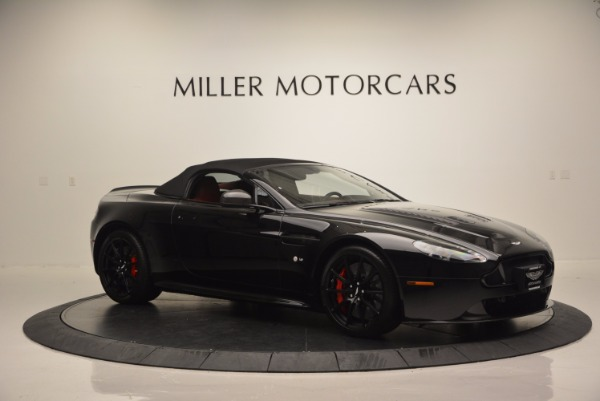 Used 2015 Aston Martin V12 Vantage S Roadster for sale Sold at Bugatti of Greenwich in Greenwich CT 06830 16