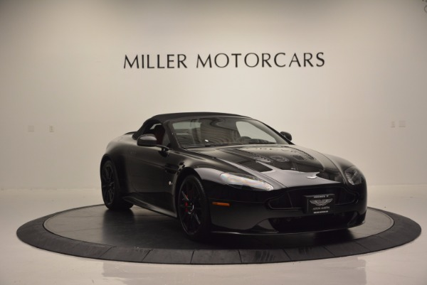 Used 2015 Aston Martin V12 Vantage S Roadster for sale Sold at Bugatti of Greenwich in Greenwich CT 06830 17