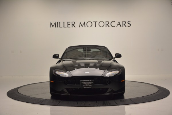 Used 2015 Aston Martin V12 Vantage S Roadster for sale Sold at Bugatti of Greenwich in Greenwich CT 06830 18