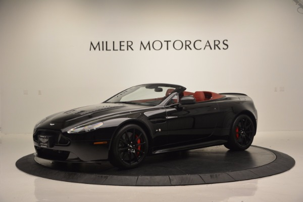 Used 2015 Aston Martin V12 Vantage S Roadster for sale Sold at Bugatti of Greenwich in Greenwich CT 06830 2