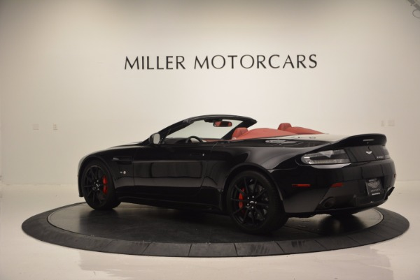 Used 2015 Aston Martin V12 Vantage S Roadster for sale Sold at Bugatti of Greenwich in Greenwich CT 06830 4