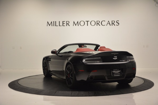 Used 2015 Aston Martin V12 Vantage S Roadster for sale Sold at Bugatti of Greenwich in Greenwich CT 06830 5