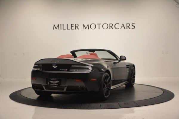Used 2015 Aston Martin V12 Vantage S Roadster for sale Sold at Bugatti of Greenwich in Greenwich CT 06830 7