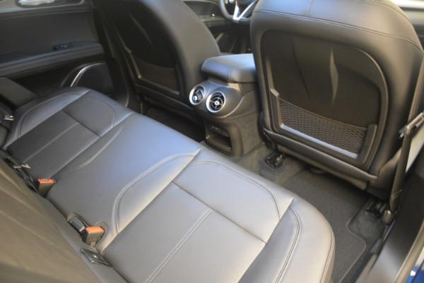 New 2018 Alfa Romeo Stelvio Sport Q4 for sale Sold at Bugatti of Greenwich in Greenwich CT 06830 22