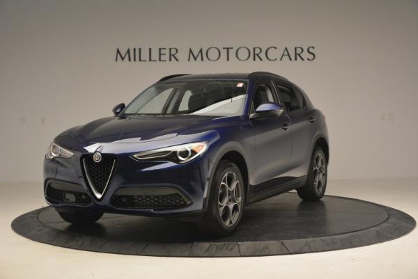 New 2018 Alfa Romeo Stelvio Sport Q4 for sale Sold at Bugatti of Greenwich in Greenwich CT 06830 1