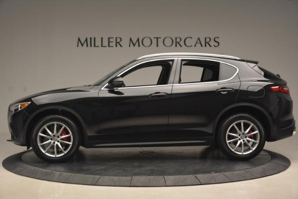New 2018 Alfa Romeo Stelvio Ti Q4 for sale Sold at Bugatti of Greenwich in Greenwich CT 06830 3