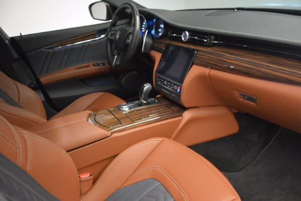 New 2017 Maserati Quattroporte S Q4 GranLusso for sale Sold at Bugatti of Greenwich in Greenwich CT 06830 13
