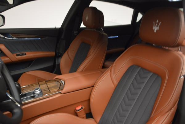 New 2017 Maserati Quattroporte S Q4 GranLusso for sale Sold at Bugatti of Greenwich in Greenwich CT 06830 17