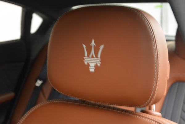 New 2017 Maserati Quattroporte S Q4 GranLusso for sale Sold at Bugatti of Greenwich in Greenwich CT 06830 19