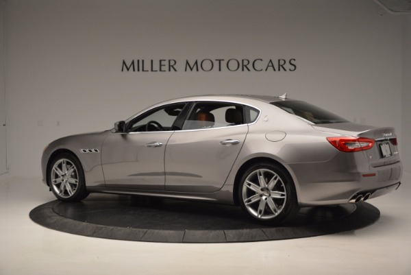 New 2017 Maserati Quattroporte S Q4 GranLusso for sale Sold at Bugatti of Greenwich in Greenwich CT 06830 4
