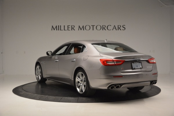 New 2017 Maserati Quattroporte S Q4 GranLusso for sale Sold at Bugatti of Greenwich in Greenwich CT 06830 5
