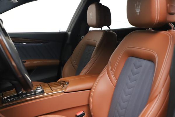 Used 2017 Maserati Quattroporte SQ4 GranLusso/ Zegna for sale $62,900 at Bugatti of Greenwich in Greenwich CT 06830 15