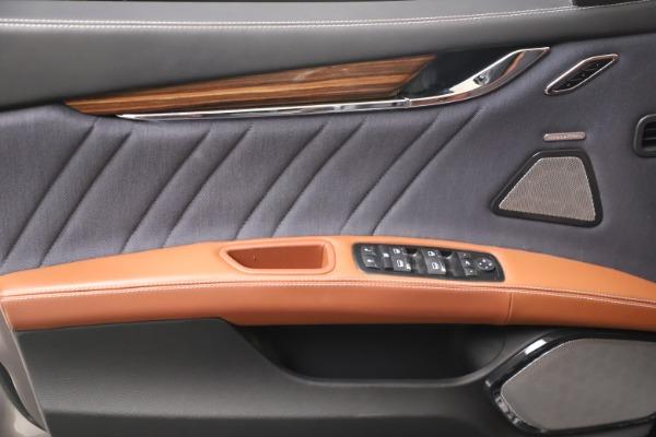 Used 2017 Maserati Quattroporte SQ4 GranLusso/ Zegna for sale $62,900 at Bugatti of Greenwich in Greenwich CT 06830 17