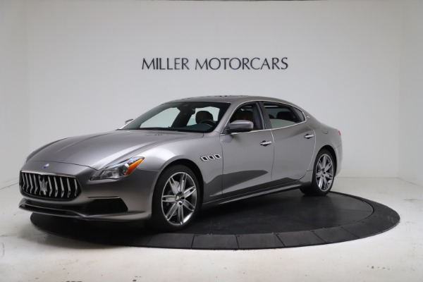 New 2017 Maserati Quattroporte SQ4 GranLusso/ Zegna for sale Sold at Bugatti of Greenwich in Greenwich CT 06830 2