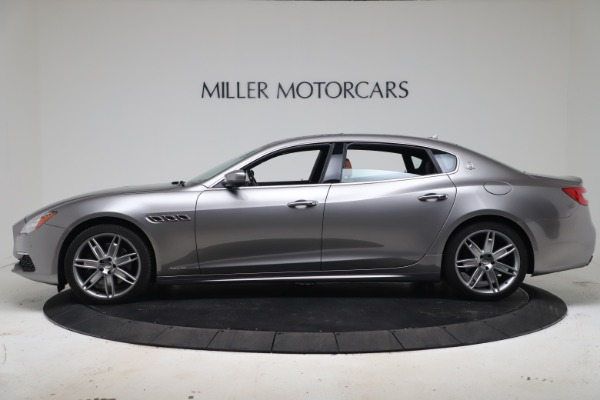 New 2017 Maserati Quattroporte SQ4 GranLusso/ Zegna for sale Sold at Bugatti of Greenwich in Greenwich CT 06830 3