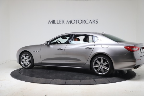 New 2017 Maserati Quattroporte SQ4 GranLusso/ Zegna for sale Sold at Bugatti of Greenwich in Greenwich CT 06830 4