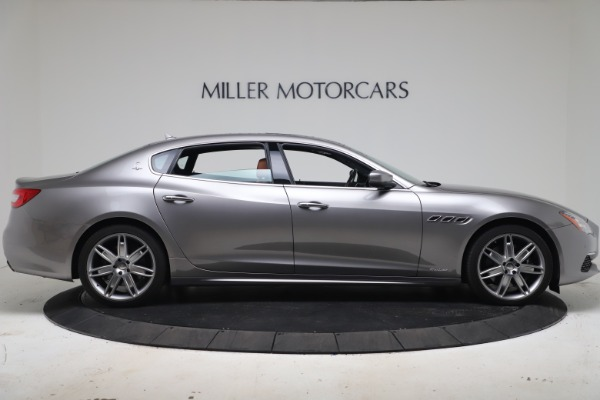 New 2017 Maserati Quattroporte SQ4 GranLusso/ Zegna for sale Sold at Bugatti of Greenwich in Greenwich CT 06830 9