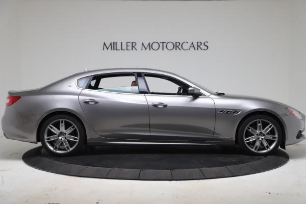 Used 2017 Maserati Quattroporte SQ4 GranLusso/ Zegna for sale $62,900 at Bugatti of Greenwich in Greenwich CT 06830 9
