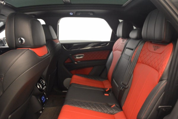 Used 2018 Bentley Bentayga W12 Signature for sale Sold at Bugatti of Greenwich in Greenwich CT 06830 28