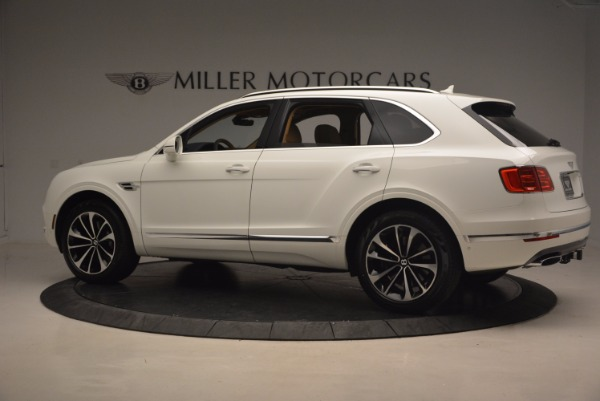 New 2018 Bentley Bentayga W12 Signature for sale Sold at Bugatti of Greenwich in Greenwich CT 06830 4