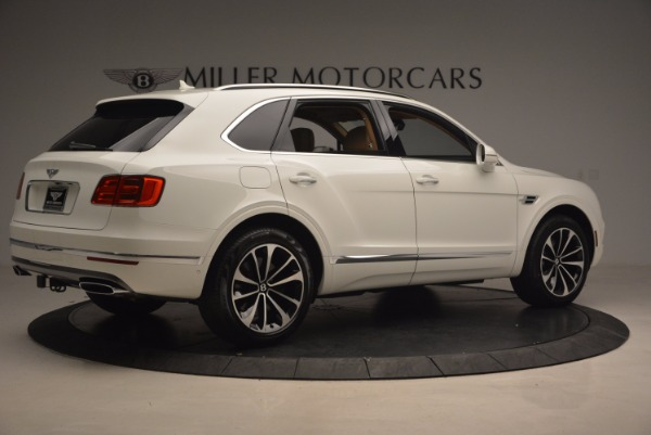 New 2018 Bentley Bentayga W12 Signature for sale Sold at Bugatti of Greenwich in Greenwich CT 06830 8