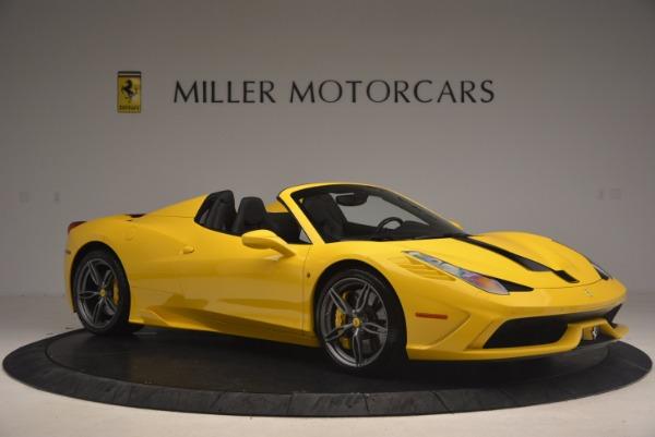 Used 2015 Ferrari 458 Speciale Aperta for sale Sold at Bugatti of Greenwich in Greenwich CT 06830 10