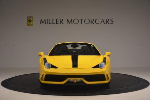 Used 2015 Ferrari 458 Speciale Aperta for sale Sold at Bugatti of Greenwich in Greenwich CT 06830 12