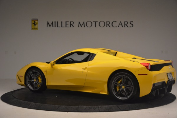 Used 2015 Ferrari 458 Speciale Aperta for sale Sold at Bugatti of Greenwich in Greenwich CT 06830 16
