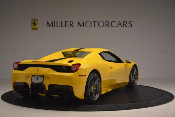 Used 2015 Ferrari 458 Speciale Aperta for sale Sold at Bugatti of Greenwich in Greenwich CT 06830 19