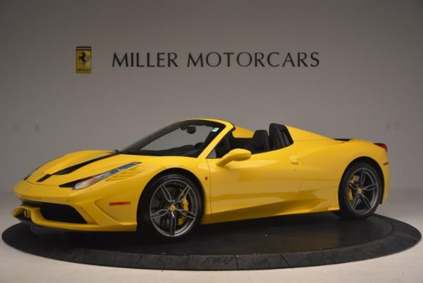 Used 2015 Ferrari 458 Speciale Aperta for sale Sold at Bugatti of Greenwich in Greenwich CT 06830 2