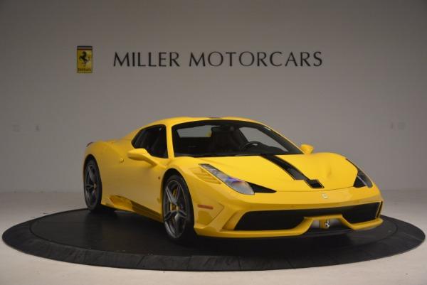 Used 2015 Ferrari 458 Speciale Aperta for sale Sold at Bugatti of Greenwich in Greenwich CT 06830 23