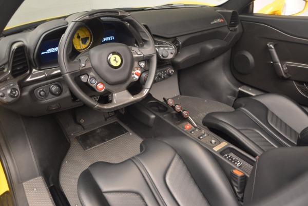 Used 2015 Ferrari 458 Speciale Aperta for sale Sold at Bugatti of Greenwich in Greenwich CT 06830 25