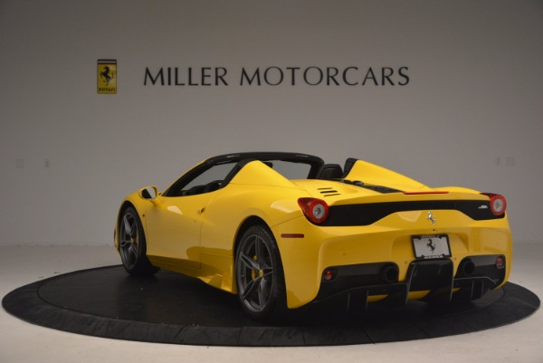 Used 2015 Ferrari 458 Speciale Aperta for sale Sold at Bugatti of Greenwich in Greenwich CT 06830 5