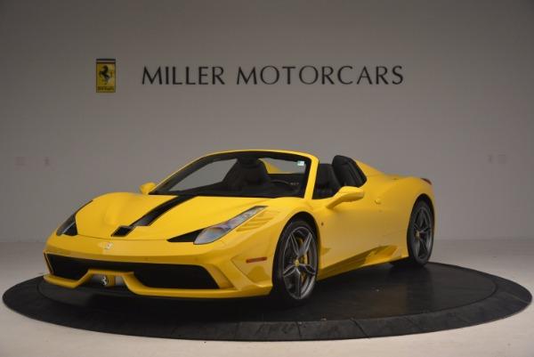 Used 2015 Ferrari 458 Speciale Aperta for sale Sold at Bugatti of Greenwich in Greenwich CT 06830 1