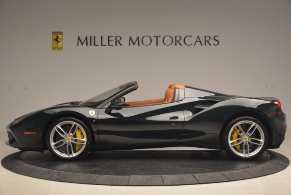Used 2016 Ferrari 488 Spider for sale Sold at Bugatti of Greenwich in Greenwich CT 06830 3
